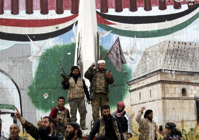 Yihadistas del grupo Frente al Nusra (archivo)
