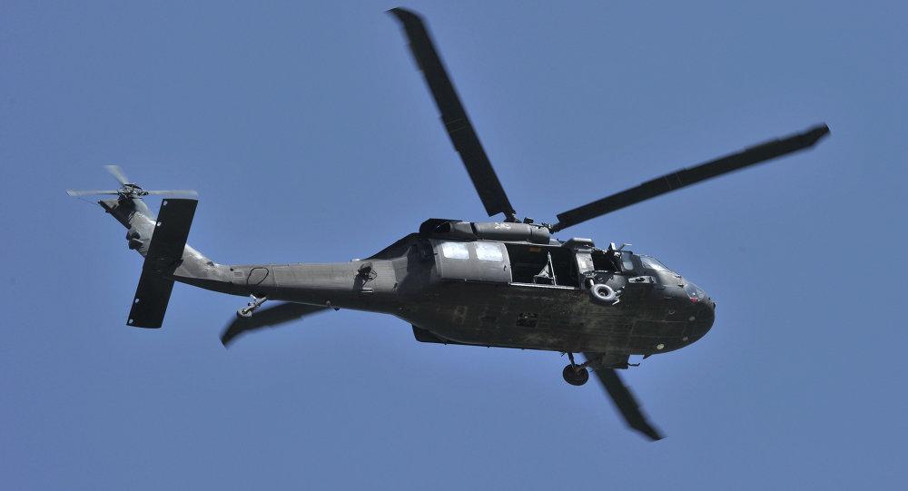 Helicóptero Black Hawk