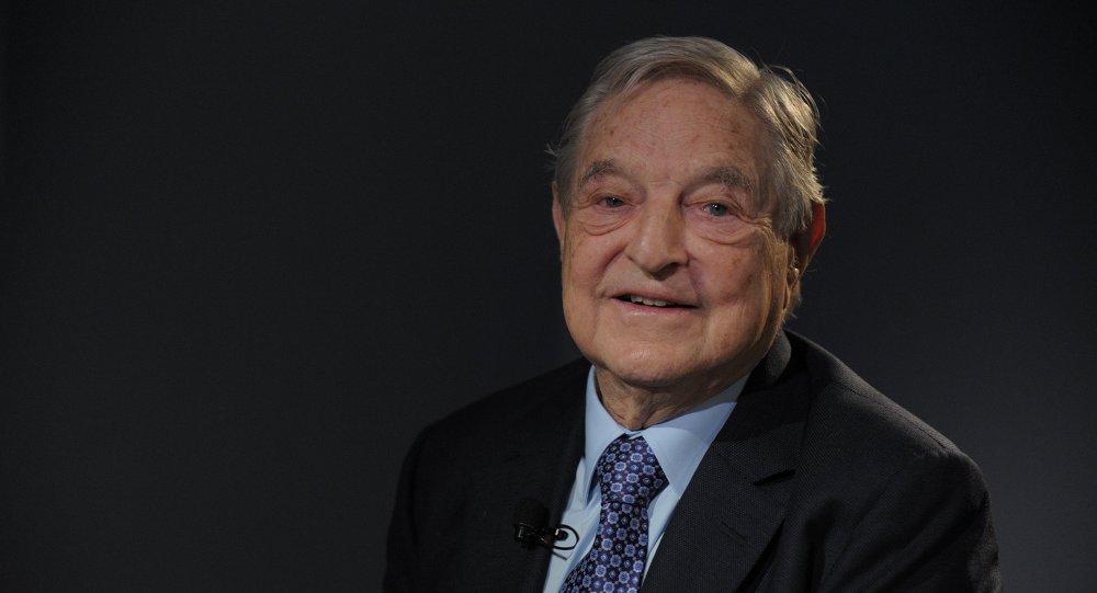 George Soros de la Fundación Soros