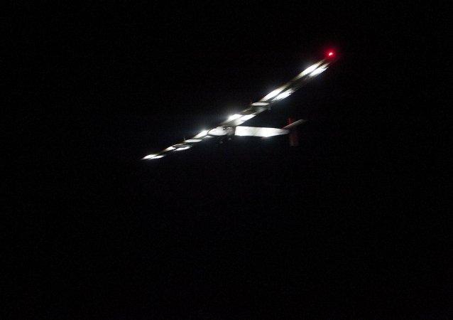 Solar Impulse 2 ha partido de la ciudad birmana de Mandalay rumbo a Chongqing en China