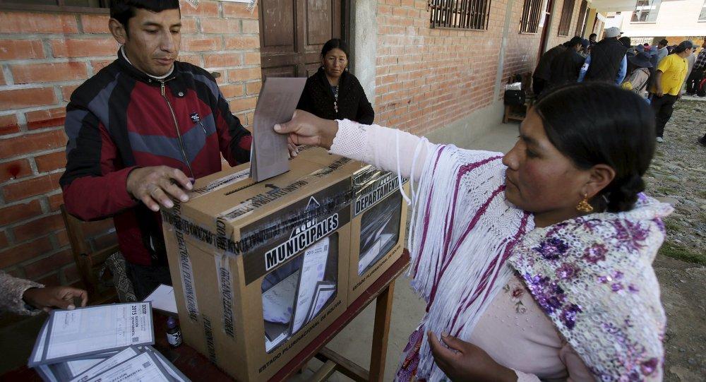 Las elecciones en Bolivia (archivo)
