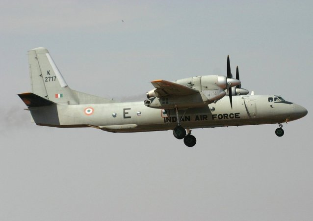 Avion de transporte militar An-32 de la Fuerza Aérea india