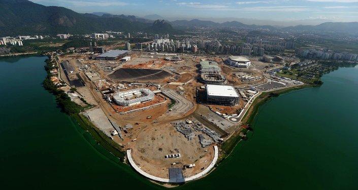 Construcción del Parque Olímpico de Río de Janeiro