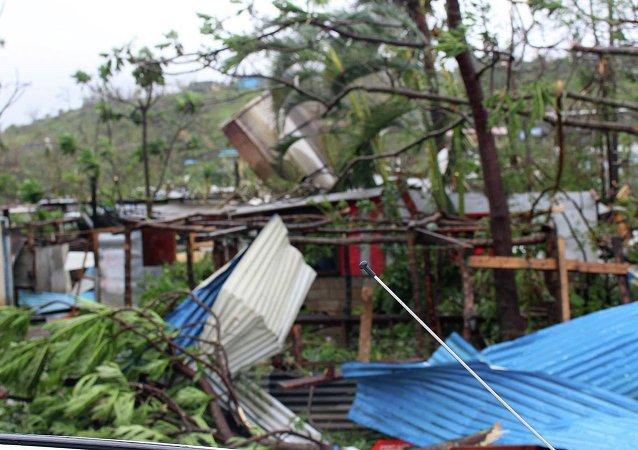 Consecuencias del ciclón Pam en Vanuatu