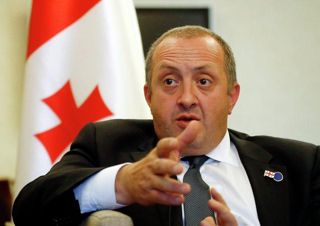 Gueorgui Margvelashvili, presidente de Georgia