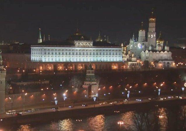 El Kremlin, a oscuras