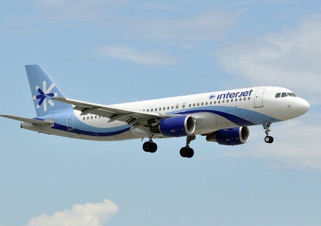 La aerolínea Interjet dona un Airbus A320 para la investigación aérea en México
