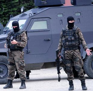 Policías turcos (archivo)