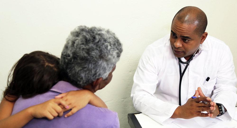 Médico cubano en Brasil