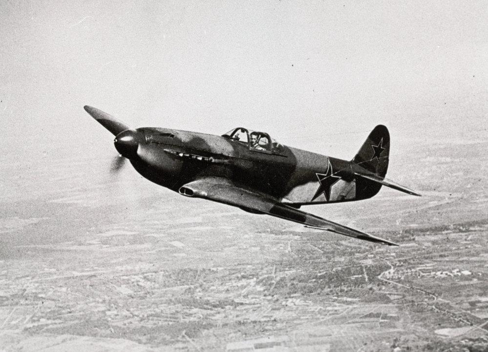 El avión Yak-3