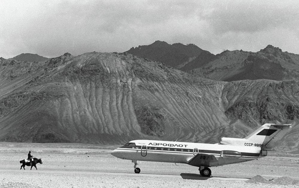 El avión Yak-40