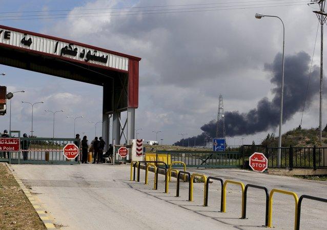 Situación a la frontera sirio-jordana
