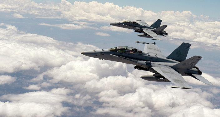 Cazas F-18