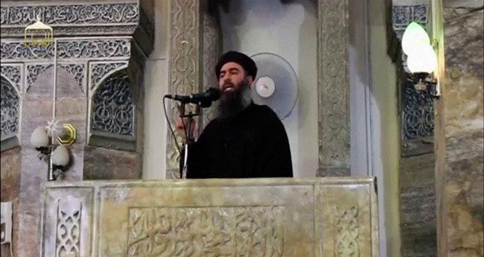 Abu Bakr Bagdadi, líder del grupo terrorista Daesh