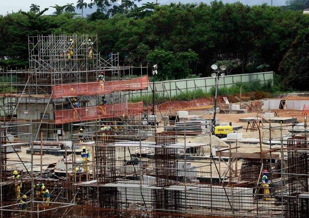 Construcción del Complejo Olímpico Deodoro