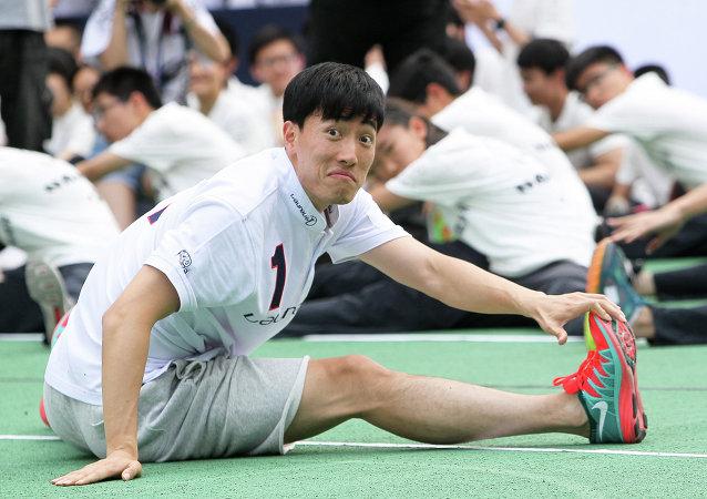 Liu Xiang, atleta y campeón olímpico chino
