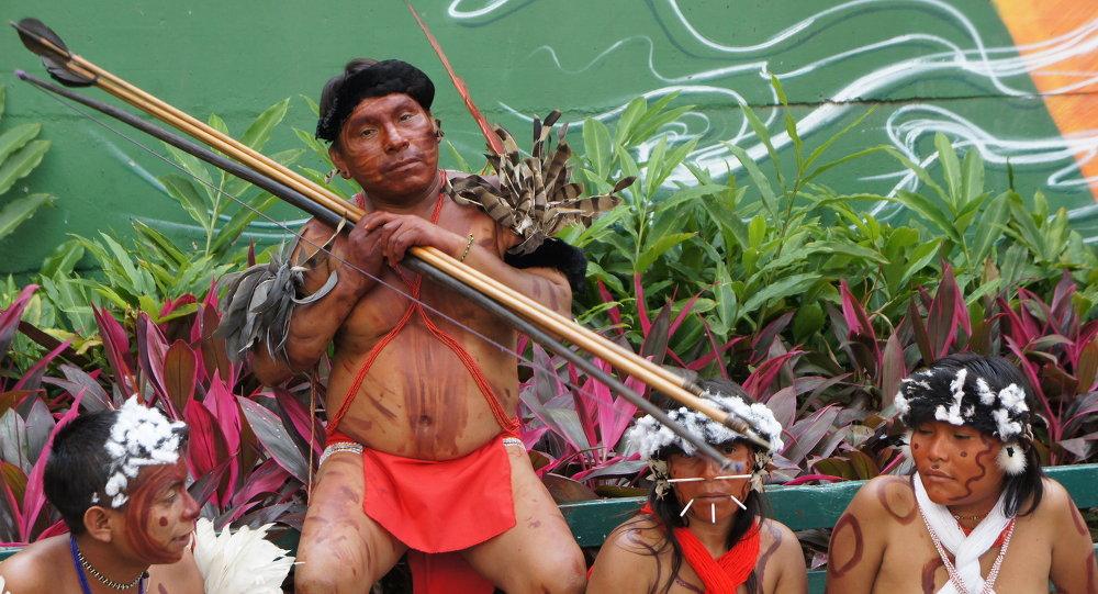 Indios Yanomami