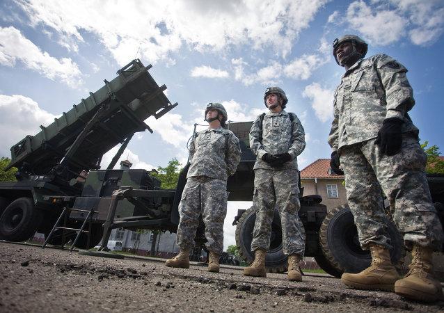 Misiles estadounidenses Patriot