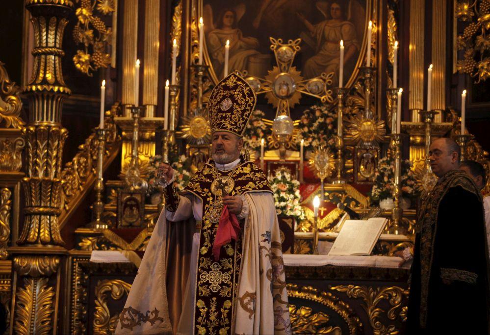 Misa Pascual en Estambul