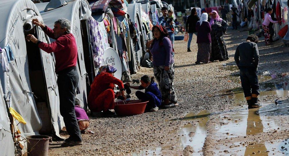 Refugiados kurdos