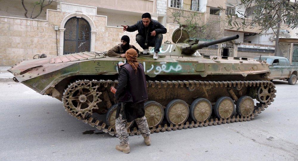 Yihadistas en Idlib (Archivo)