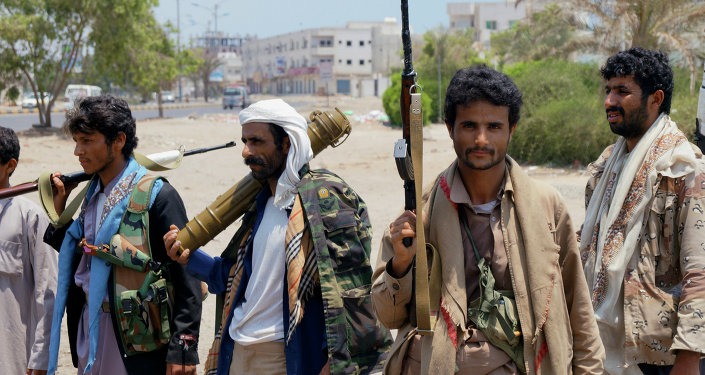 Rebeldes hutíes en Adén
