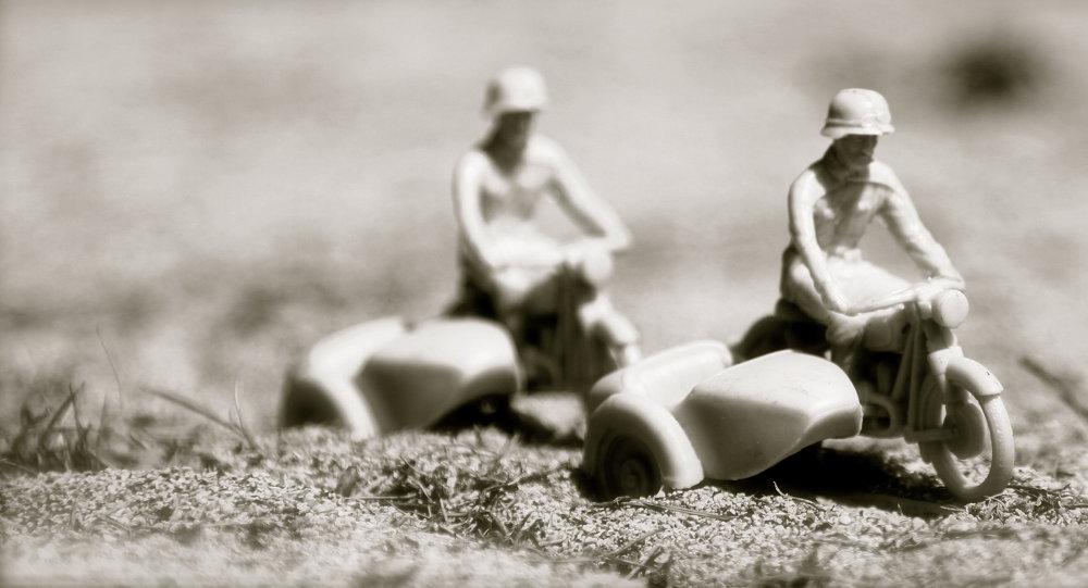 Soldados nazis de juguete