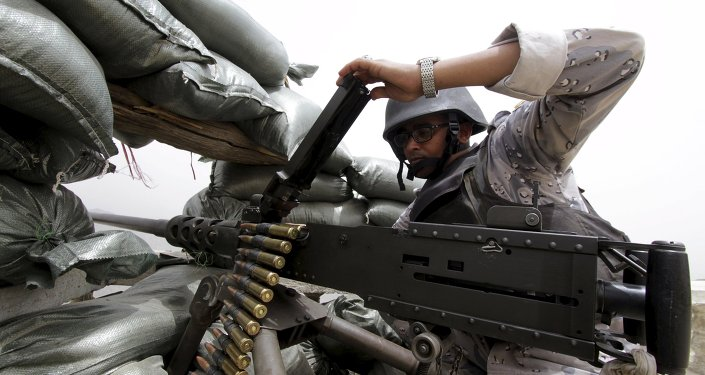 Un militar saudí en la frontera con Yemen (archivo)