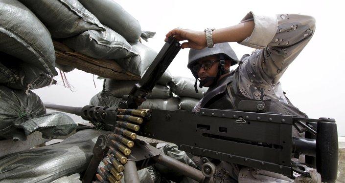 Un militar saudí
