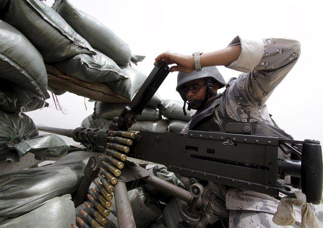 Soldado del Ejército saudí