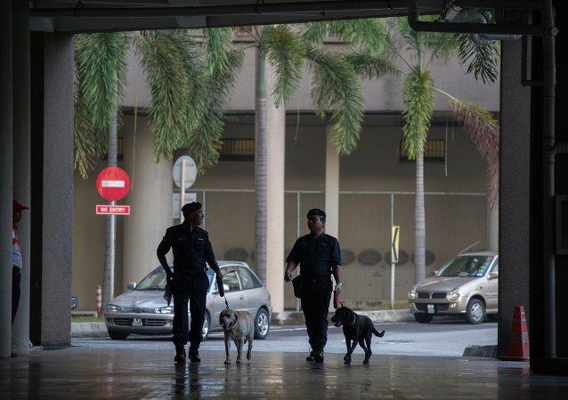 Policía malasia en Kuala Lumpur (archivo)