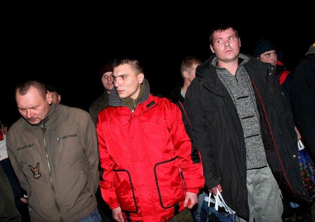 RPD entrega a los últimos 16 prisioneros de guerra a los representantes de Kiev