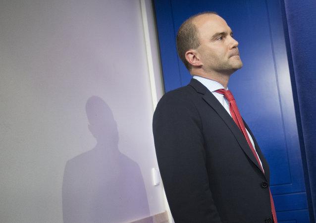 Ben Rhodes, asesor adjunto de Seguridad Nacional de la Casa Blanca