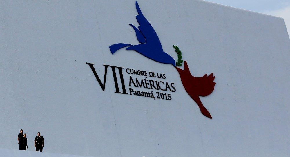 Logo de la Cumbre de las Américas en Panamá