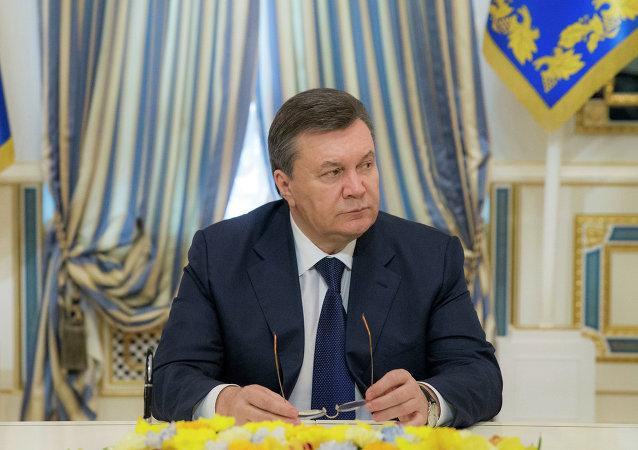 Víctor Yanukovich, expresidente de Ucrania