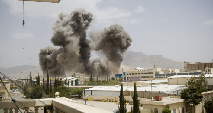 Ataques aéreos sobre ciudades de Yemen