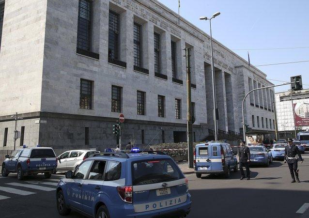 Al menos tres muertos a balazos en un tribunal de Milán