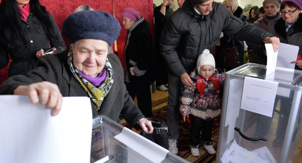 Elecciones en Donetsk (archivo)