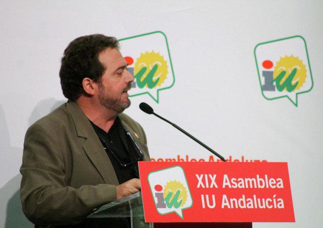 Juan de Dios Villanueva, secretario de relaciones internacionales del Partido Comunista de España (PCE)
