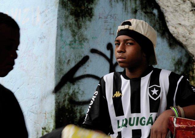 Jóvenes brasileños