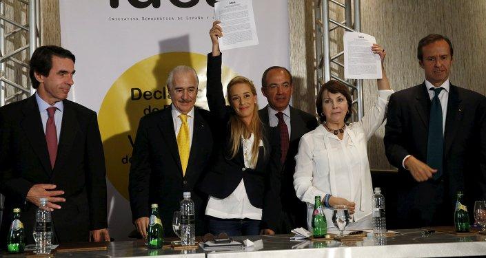 Exmandatarios de América Latina y España firman declaración por los DDHH en Venezuela