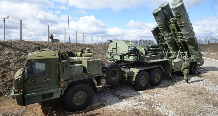 Sistemas de misiles antiaéreos S-400 Triumf