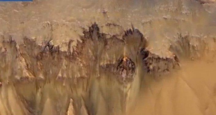 Las pruebas de la presencia de agua en Marte