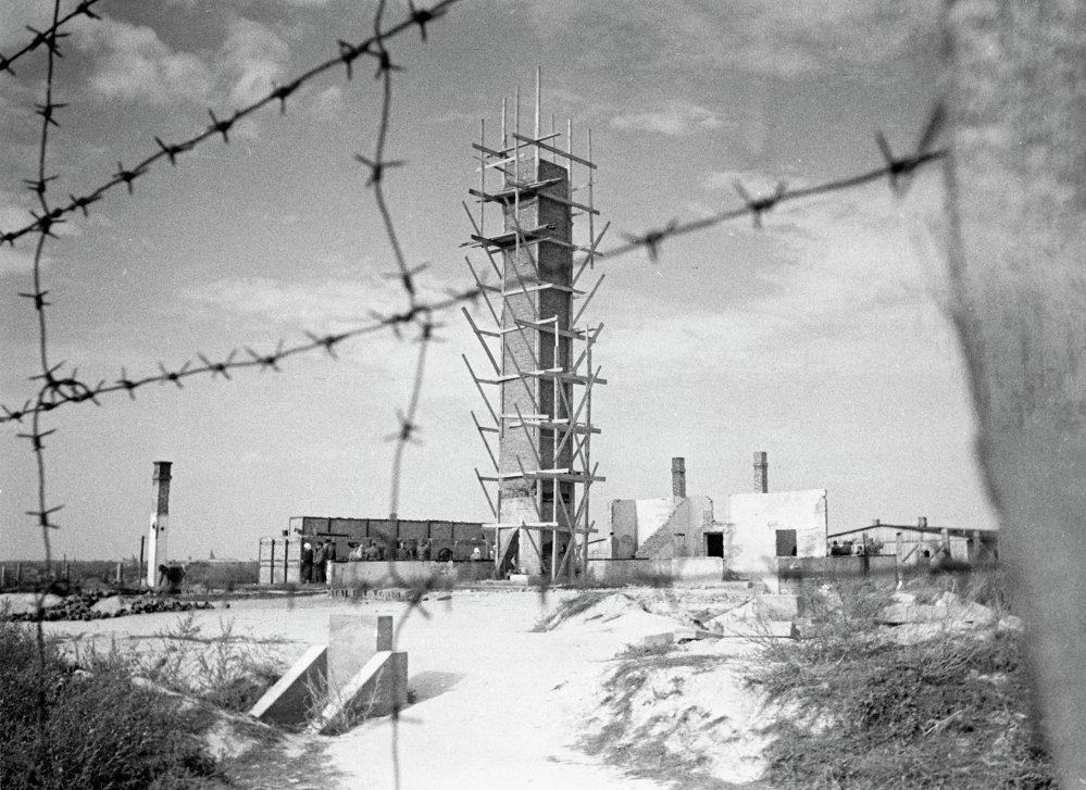 El crematorio del campo de Majdanek