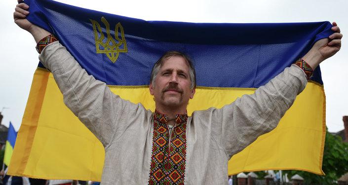 Un hombre ucraniano