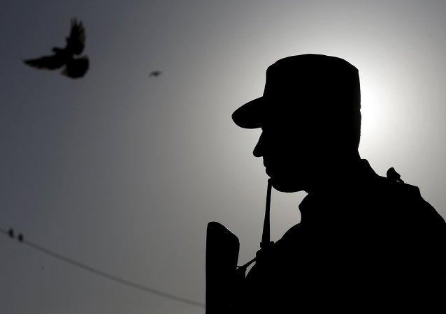 Policía afgano