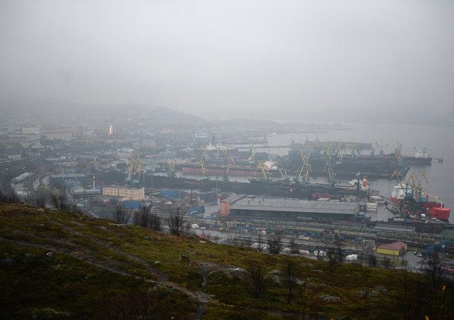 Ciudad de Múrmansk, la península de Kola
