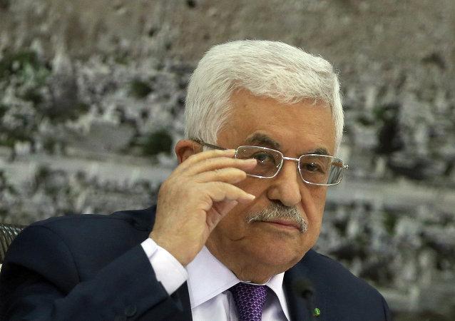 Mahmud Abás, presidente de Palestina