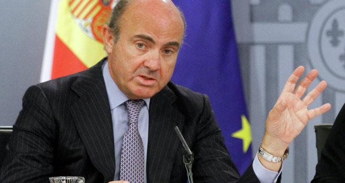 Luis de Guindos, ministro de Economía de España