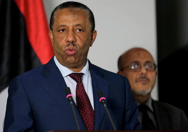 Abdalá al Thani, primer ministro de Libia